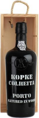 Портвейн «Kopke Colheita Porto vintage» 1985 г., в деревянной подарочной упаковке