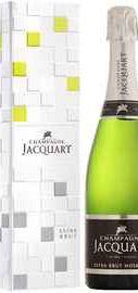 Шампанское экстра белое брют «Champagne Jacquart Extra-Brut Mosaique» в подарочной упаковке