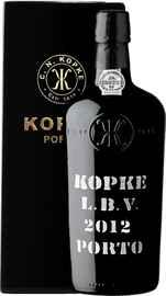 Портвейн «Kopke LBV Porto vintage» 2012 г., в подарочной упаковке