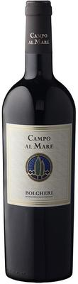 Вино красное сухое «Bolgheri Rosso. Campo Al Mare» 2015 г.
