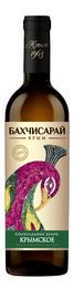 Вино столовое белое полусладкое «Крымское»