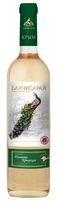 Вино столовое белое полусладкое «Тамянка Крымская»