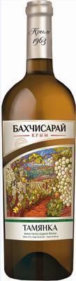 Вино столовое белое полусладкое «Тамянка Золотая, 0.375 л»