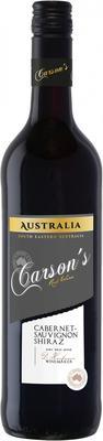 Вино красное сухое «Carson's Cabernet Sauvignon-Shiraz»
