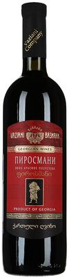 Вино красное полусухое «Вазиани Пиросмани»