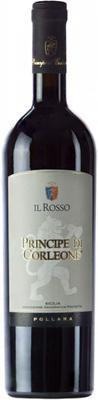 Вино красное сухое «Principe di Corleone Il Rosso»