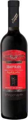 Вино красное полусладкое «Вазиани Хванчкара»
