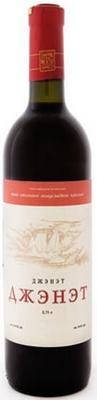 Вино столовое красное полусладкое «Джэнэт»