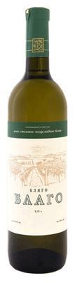 Вино столовое белое полусладкое «Благо»