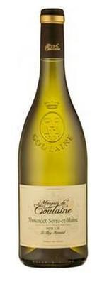 Вино белое сухое «Marquis de Goulaine Muscadet Sevre-Et-Maine Sur Lie»