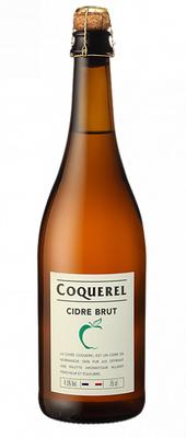 Cидр белый полусухой «Coquerel, 0.75 л»