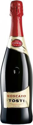 Вино игристое белое сладкое «Tosti Moscato» набор из 3-х бутылок в подарочной упаковке