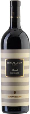 Вино красное сухое «Fontanafredda Serralunga d'Alba Barolo, 0.75 л» 2012 г.