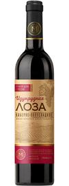 Вино столовое красное полусладкое «Изумрудная лоза Каберне»