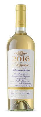 Вино белое полусладкое «Совиньон Блан Элегенс»