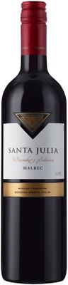 Вино красное сухое «Santa Julia Malbec» 2016 г.