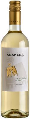 Вино столовое белое сухое «Anakena Sauvignon Blanc» 2016 г.