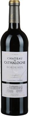 Вино красное сухое «Chateau de Cathalogne Bordeaux» 2013 г.