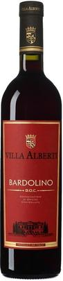 Вино красное сухое «Bardolino Villa Alberti» 2016 г.