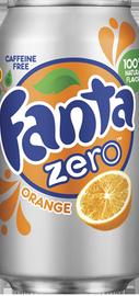 Газированный напиток «Fanta Orange Zero»