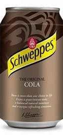 Газированный напиток «Schweppes Cola»