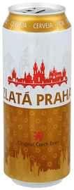 Пиво «Zlata Praha » в жестяной банке