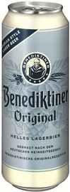 Пиво «Benediktiner Original Hell» в жестяной банке
