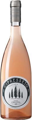 Вино розовое сухое «Cipresseto Rosato» 2016 г.