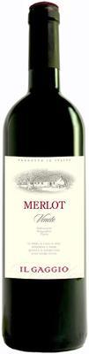 Вино красное сухое «Il Gaggio Merlot Veneto» 2015 г.