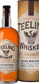 Виски ирландский «Teeling Irish Whiskey Single Grain» в тубе