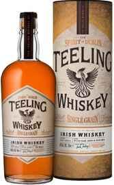 Виски ирландский «Teeling Irish Whiskey Single Grain» в тубе