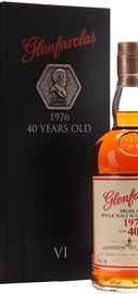 Виски шотландский «Glenfarclas 40 Years Old» 1976 г., в подарочной упаковке
