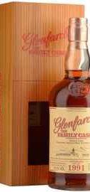 Виски шотландский  «Glenfarclas 1991 Family Casks» в подарочной упаковке