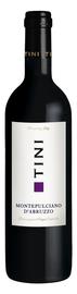 Вино красное сухое «Tini Montepulciano d'Abruzzo» 2016 г.