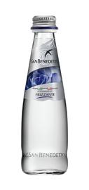 Вода газированная «San Benedetto, 0.25 л» стекло
