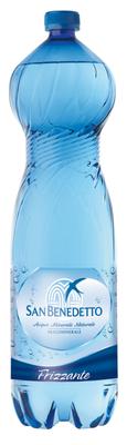 Вода газированная «San Benedetto» пластик