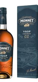 Коньяк французский «Monnet VSOP» в подарочной упаковке