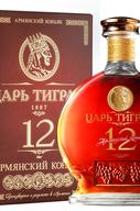 Коньяк армянский  «Tsar Tigran 12 Years» в подарочной упаковке