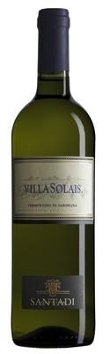 Вино белое полусухое «Villa Solais» 2016 г.