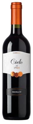 Вино красное полусухое «Cielo e Terra Merlot, 0.75 л» 2016 г.