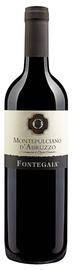 Вино красное сухое «Fontegaia Montepulciano D'Abruzzo» 2016 г.