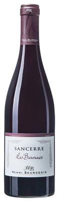 Вино красное сухое «Sancerre Rouge Les Baronnes» 2014 г.