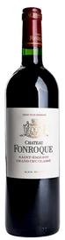 Вино красное сухое «Chateau Fonroque» 2004 г.