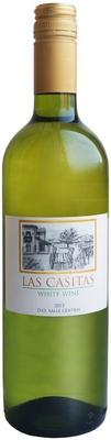 Вино белое сухое «Las Casitas» 2015 г.