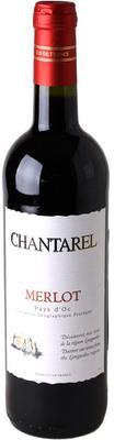 Вино красное сухое «Chantarel Merlot» 2016 г.