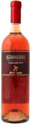 Вино розовое сухое «Bardolino Chiaretto Serenissima» 2016 г.