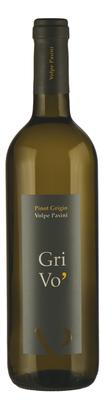 Вино белое сухое «Grivo Volpe Pasini, 0.375 л» 2016 г.