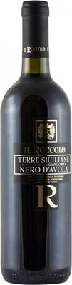 Вино красное сухое «Il Roccolo Nero d'Avola» 2015 г.