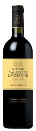Вино красное сухое «Chateau Valentin Larmande Cuvee La Rose» 2014 г.
