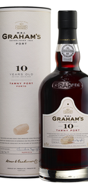 Портвейн «Graham's 10 Year Old Tawny Porto» в тубе